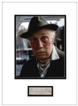 Lennard Pearce Autograph Signed Display - Only Fools and Horses